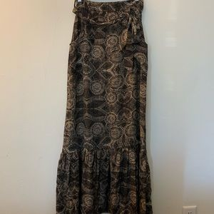 Adorable silk, maxi skirt from Anthropologie.